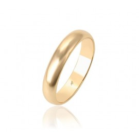 Gold-plated wedding ring