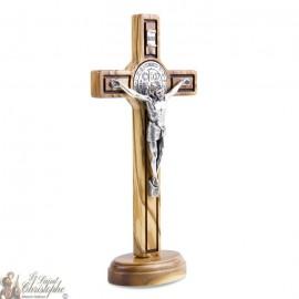 Croce di San Benedetto in piedi - 8 x 15 cm