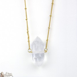 Pendant - Rock Crystal Stone Necklace