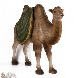 Colorful stand-up camel for Christmas crib - 30 -40 cm
