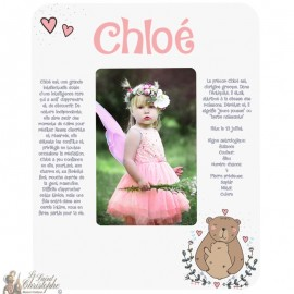 Photo frame first name meaning - customizable