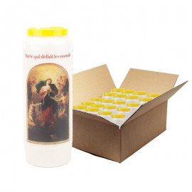 Sacred Heart of Mary Novena Candles - 20 pieces