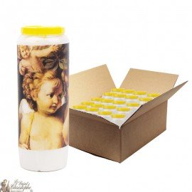Vintage Angel Novena Candles - 20 pieces