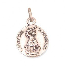Saint Michael the Archangel Medal - silver 925