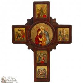 Icona a croce 37 x 24 cm
