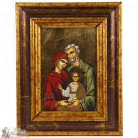 Icon frame Holy Family 18 x 22cm