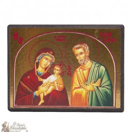 Sticker icon of the Holy Family