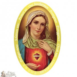 Sacred Heart of Mary Sticker