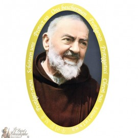 Padre Pio Sticker