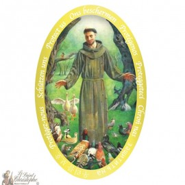 Sticker Saint Francis of Assisi
