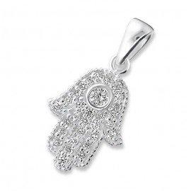 Fatma's Hand Pendant - Genuine Silver 925
