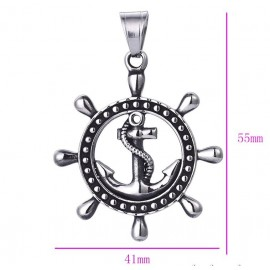 Pendant Marine anchor - stainless steel
