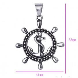 Pendant Marine anchor - stainless steel
