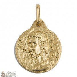 Medal of the Holy Joseph - Gold plated