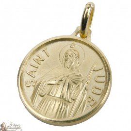 St. Jude Medal - Gold plated