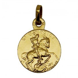 St. George Medal - Gold plated