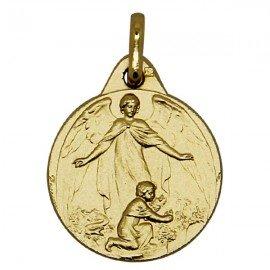 Heilige Geest medaille - verguld