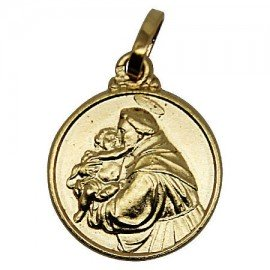 Holy Antony Medal - Gold plated