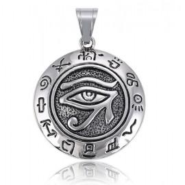 Eye of Ra Pendant - stainless steel