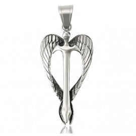 Stainless steel Saint Michael's sword protection pendant
