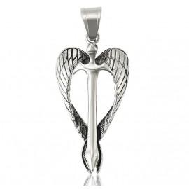 Stainless steel Saint Michael's sword protection pendant