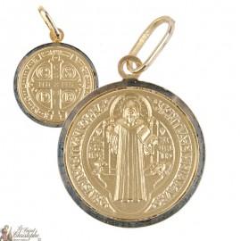 St. Benedict's medal in 18-carat gold