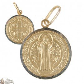 St. Benedict's medal in 18-carat gold