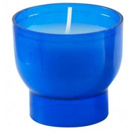 Blaue Kerzen Nachtlicht