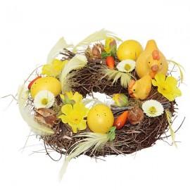 Easter Flowered Wreath