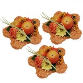 Orange flowers decoration