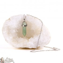 Pendant - Aventurine stone necklace