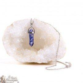 Pendant - Sodalite stone necklace