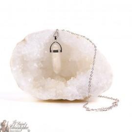 Ciondolo - Collana di cristallo di rocca