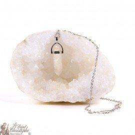 Pendant - Rock Crystal Necklace