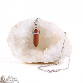 Pendant - Golden Sandstone Necklace