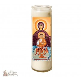 Candle 7 days in glass Queen of Heaven