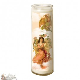 Candle 7 days in glass Angel - duo