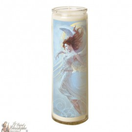 Candle 7 days in glass Angel - Moon