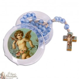 Protective Angel Rosary with its gift box