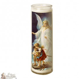 Glass candle 7 days Angel Guardian