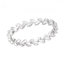 Ring twigs in silver 925