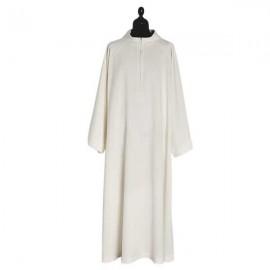 White zipper blade - Polyester