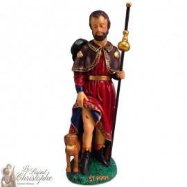 Statue of Saint Roch - 20 cm