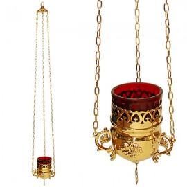 Greek copper lamp - wall lamp