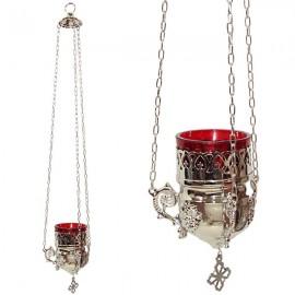 Greek silver lamp - wall lamp