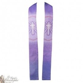 Chasuble with Scapular Stole Miraculous Virgin Tapestry