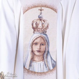 Scapular our Lady of Fatima tapestry goblin