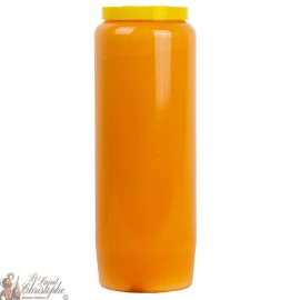 Bougie de neuvaine Orange