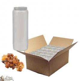 Candele Novena profumate alla mirra - scatola da 20 pezzi