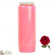 Candle Novena - Rose - perfume of Roses